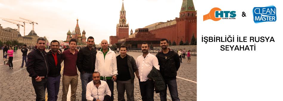 Clean Master Bayiileri Rusya Seyahati